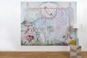 """Oriental Josephine"" Picture Mural"